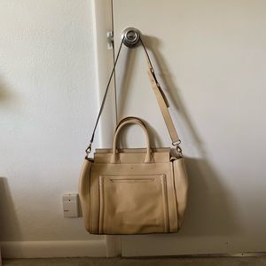 Kate Spade Claremont Drive Marcella Cream Leather